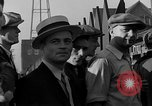 Image of workers end shipyard strike Camden New Jersey USA, 1935, second 35 stock footage video 65675043348