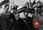 Image of workers end shipyard strike Camden New Jersey USA, 1935, second 37 stock footage video 65675043348