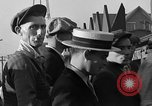 Image of workers end shipyard strike Camden New Jersey USA, 1935, second 38 stock footage video 65675043348