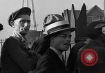 Image of workers end shipyard strike Camden New Jersey USA, 1935, second 39 stock footage video 65675043348