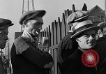 Image of workers end shipyard strike Camden New Jersey USA, 1935, second 41 stock footage video 65675043348