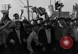 Image of workers end shipyard strike Camden New Jersey USA, 1935, second 42 stock footage video 65675043348
