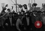Image of workers end shipyard strike Camden New Jersey USA, 1935, second 43 stock footage video 65675043348