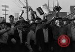 Image of workers end shipyard strike Camden New Jersey USA, 1935, second 47 stock footage video 65675043348
