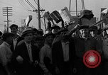 Image of workers end shipyard strike Camden New Jersey USA, 1935, second 49 stock footage video 65675043348