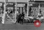 Image of Rodeo show Ellensburg Washington USA, 1935, second 13 stock footage video 65675043350