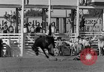Image of Rodeo show Ellensburg Washington USA, 1935, second 14 stock footage video 65675043350