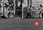 Image of Rodeo show Ellensburg Washington USA, 1935, second 18 stock footage video 65675043350