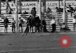 Image of Rodeo show Ellensburg Washington USA, 1935, second 21 stock footage video 65675043350