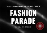 Image of Fashion show New York United States USA, 1958, second 3 stock footage video 65675043360