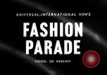 Image of Fashion show New York United States USA, 1958, second 5 stock footage video 65675043360