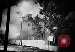 Image of Rug factory on fire Los Angeles California USA, 1955, second 20 stock footage video 65675043377