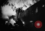 Image of Rug factory on fire Los Angeles California USA, 1955, second 25 stock footage video 65675043377