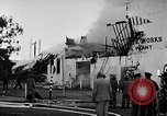Image of Rug factory on fire Los Angeles California USA, 1955, second 43 stock footage video 65675043377