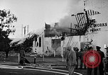 Image of Rug factory on fire Los Angeles California USA, 1955, second 44 stock footage video 65675043377