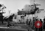 Image of Rug factory on fire Los Angeles California USA, 1955, second 45 stock footage video 65675043377