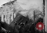 Image of Rug factory on fire Los Angeles California USA, 1955, second 53 stock footage video 65675043377