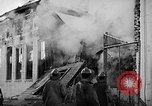 Image of Rug factory on fire Los Angeles California USA, 1955, second 54 stock footage video 65675043377