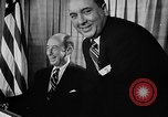 Image of Adlai Stevenson Chicago Illinois USA, 1955, second 13 stock footage video 65675043380