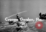 Image of Hydro-Glider Cypress Garden Florida USA, 1955, second 4 stock footage video 65675043381
