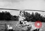 Image of Hydro-Glider Cypress Garden Florida USA, 1955, second 11 stock footage video 65675043381