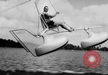 Image of Hydro-Glider Cypress Garden Florida USA, 1955, second 20 stock footage video 65675043381