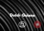 Image of fish farming Dutch Guiana, 1957, second 3 stock footage video 65675043389