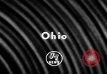 Image of Football match Ohio United States USA, 1957, second 2 stock footage video 65675043391