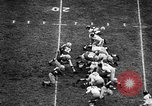 Image of Football match Ohio United States USA, 1957, second 5 stock footage video 65675043391