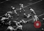 Image of Football match Ohio United States USA, 1957, second 17 stock footage video 65675043391