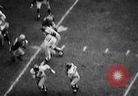 Image of Football match Ohio United States USA, 1957, second 33 stock footage video 65675043391