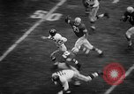 Image of Football match Ohio United States USA, 1957, second 36 stock footage video 65675043391