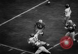 Image of Football match Ohio United States USA, 1957, second 38 stock footage video 65675043391