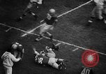 Image of Football match Ohio United States USA, 1957, second 39 stock footage video 65675043391