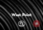 Image of Football match West Point New York USA, 1957, second 2 stock footage video 65675043392