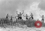 Image of Hitler Youth at beach Poland, 1940, second 2 stock footage video 65675043398