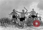 Image of Hitler Youth at beach Poland, 1940, second 3 stock footage video 65675043398