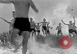 Image of Hitler Youth at beach Poland, 1940, second 4 stock footage video 65675043398