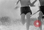 Image of Hitler Youth at beach Poland, 1940, second 6 stock footage video 65675043398