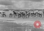 Image of Hitler Youth at beach Poland, 1940, second 9 stock footage video 65675043398