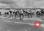 Image of Hitler Youth at beach Poland, 1940, second 10 stock footage video 65675043398