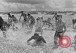 Image of Hitler Youth at beach Poland, 1940, second 13 stock footage video 65675043398