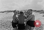 Image of Hitler Youth at beach Poland, 1940, second 16 stock footage video 65675043398