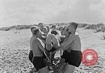 Image of Hitler Youth at beach Poland, 1940, second 17 stock footage video 65675043398