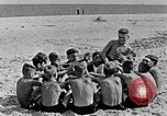 Image of Hitler Youth at beach Poland, 1940, second 28 stock footage video 65675043398