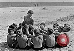 Image of Hitler Youth at beach Poland, 1940, second 29 stock footage video 65675043398