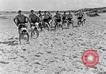 Image of Hitler Youth at beach Poland, 1940, second 41 stock footage video 65675043398