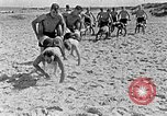 Image of Hitler Youth at beach Poland, 1940, second 42 stock footage video 65675043398