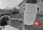 Image of Hitler Youth camp Poland, 1940, second 19 stock footage video 65675043399