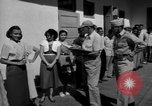 Image of Nationalist sympathizers San Juan Puerto Rico, 1950, second 37 stock footage video 65675043410